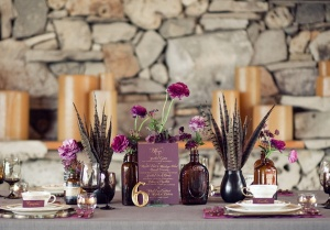 Vintage-Plum-Wedding-Idea-and-Decoration